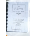 "BENTLEY ""SIX"" 6-1/2 Litre 1927 Factory Instruction Book (402.BentleySix)"